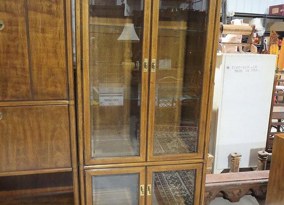 Vintage Drexel Campaign Accolade Display Cabinet