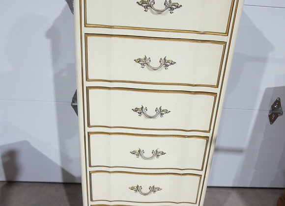 Dixie French Provincial 6 Drawer Lingerie Chest