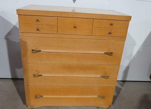 Mid Century Dixie 4 Drawer Chest / Dresser