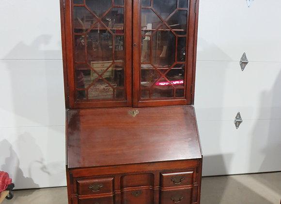 Antique Maddox Mahogany Secretary / Cabinet