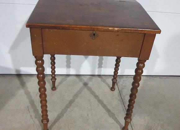 Vintage Wood Desk w/ Scrolled Legs