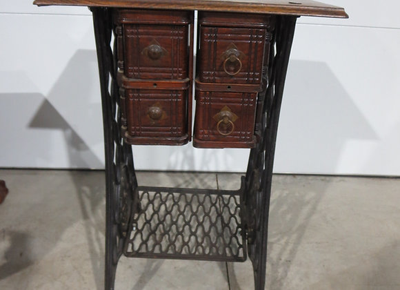 Singer Sewing Machine Legs Drawers Table