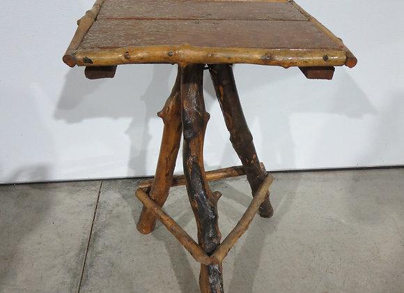 Vintage Stick Log Table