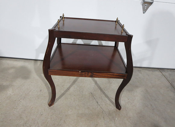 Small 2 Tiered Mahogany Table