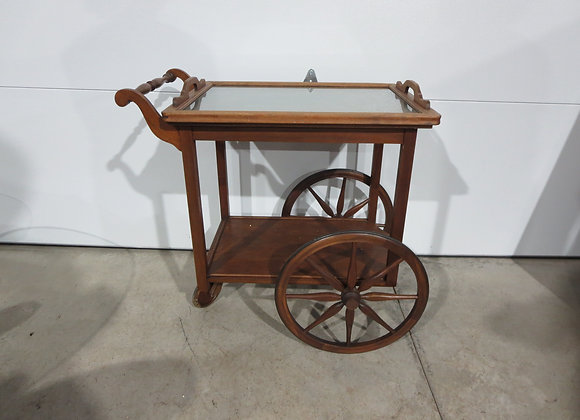 Vintage Tea Cart w/ Removable Tray needs TLC