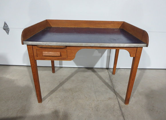 Unusual Oak Desk