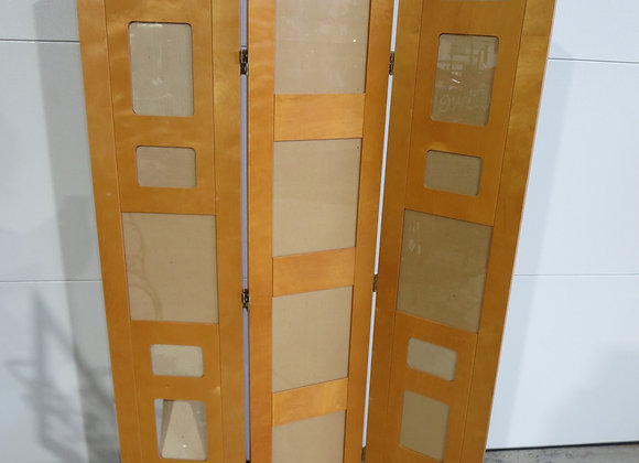 Maple Room Divider Holds Photos