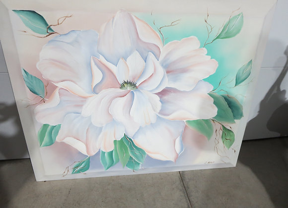 Large Wall Painting Magnolia