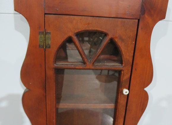Vintage Wooden Medicine Cabinet