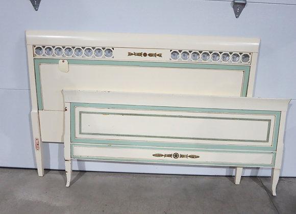 Painted Mahogany Full Sized Bed