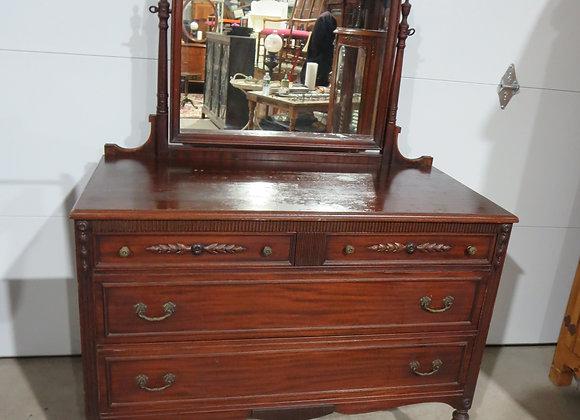 Mahogany Dresser w/ Mirror