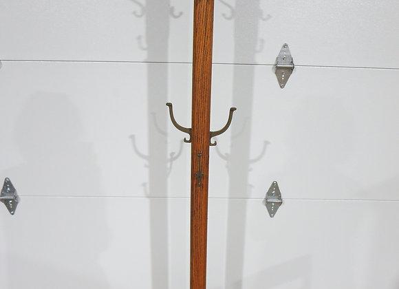 Vintage Oak Coat Rack