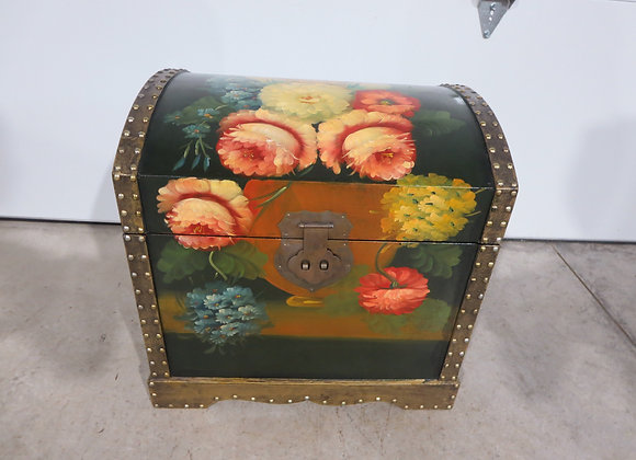 Decorative Hand Painted Trunk