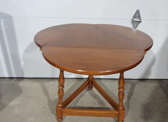 Heywood Wakefield Clover Triangle Drop Leaf Table