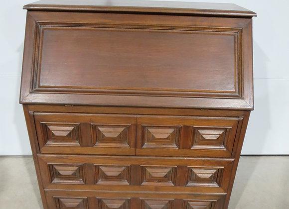 Vintage Custom Made Wood Desk