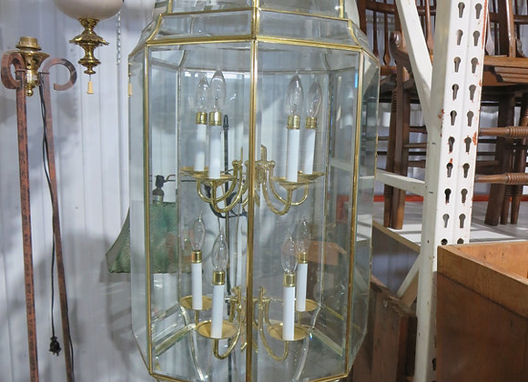 Large Octagon Pendant Hanging Entryway Light
