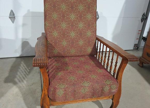 Vintage Spindled Morris Chair