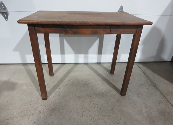 Small Wood Table / Desk