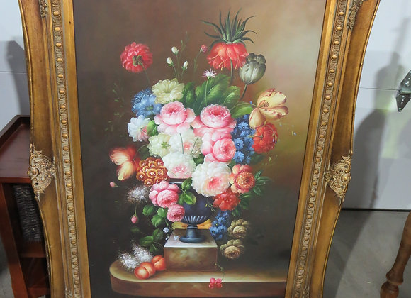 Beautiful Gold Framed Floral Painting