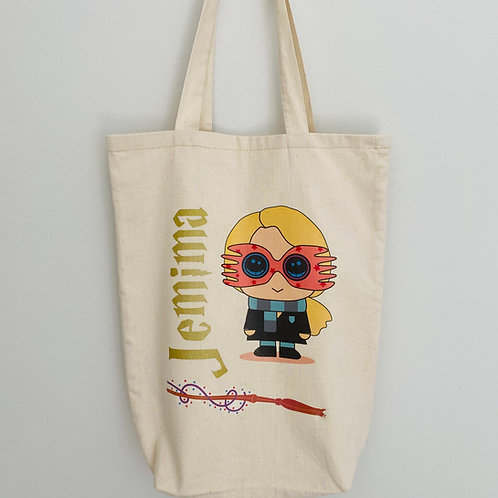 Harry Potter Character Tote Bag