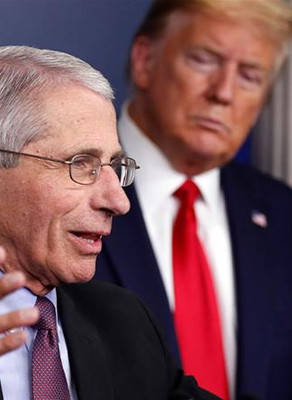 Fauci and Trump still don't seem to be on the same page about the COVID-19 Pandemic