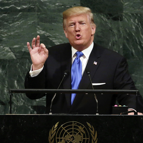PRESIDENT TRUMP ADDRESSES THE UNGA; ATTACKS CHINA RELENTLESSLY