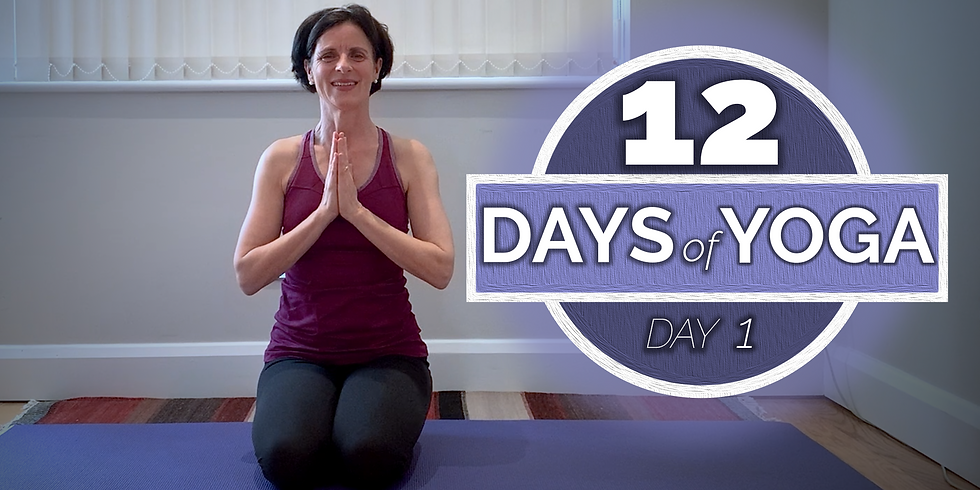 12 Days of Yoga