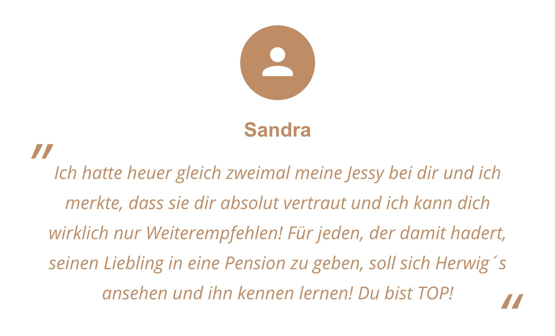 Feedback von Sandra