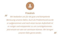 Feedback von Friedrich