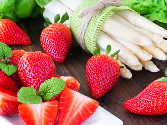 Erfolgreiche Erdbeer- und Spargelsaison