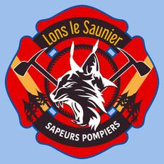 Blason Pompier Lons le Saunier