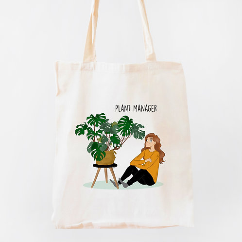 "Tote Bag ""PLANT MANAGER"""