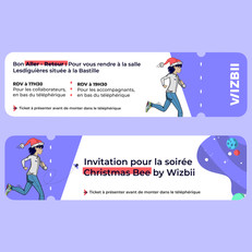 Invitation Wizbii
