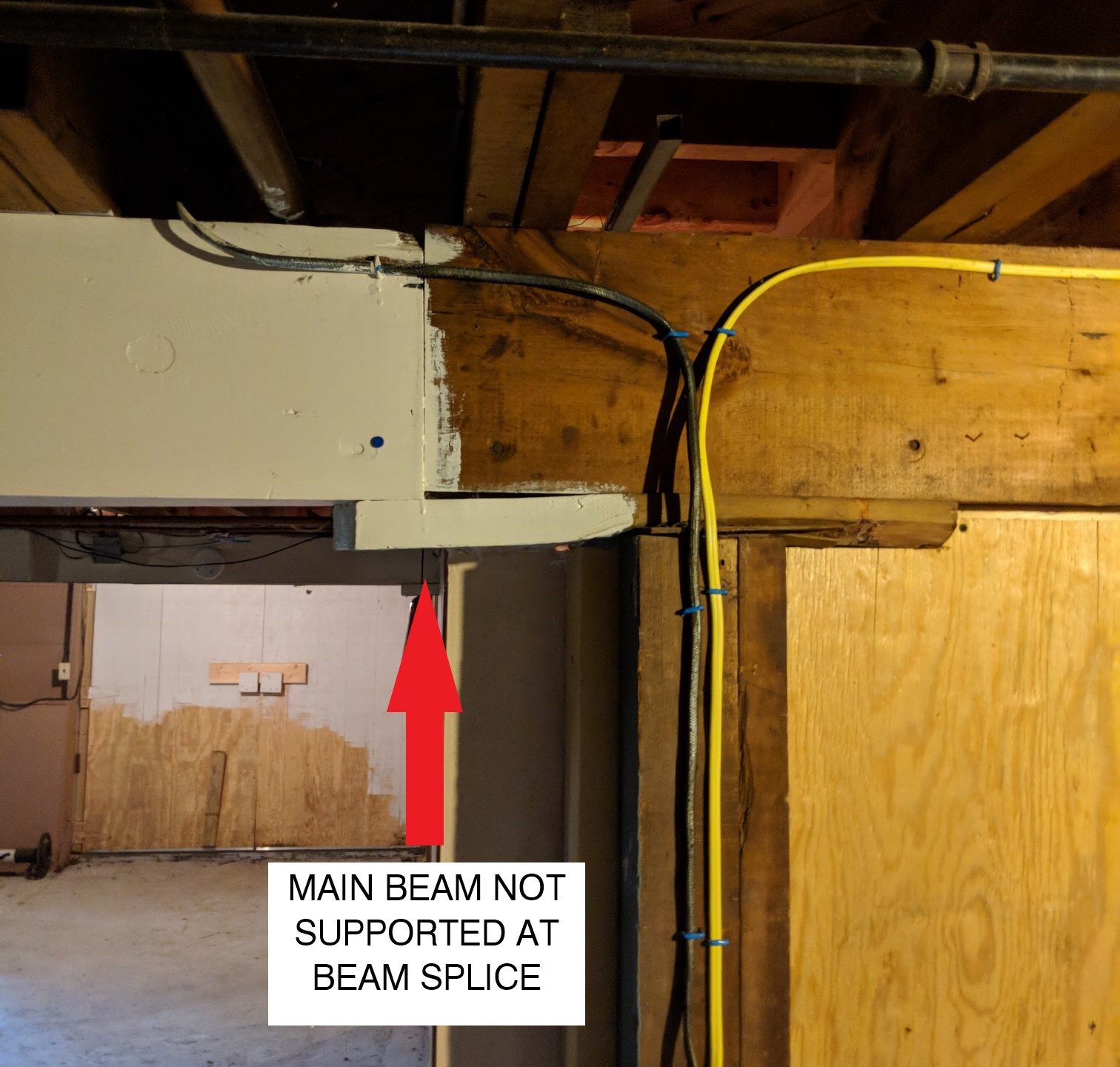 Beam Splice not Supported
