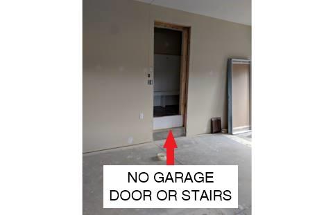 No Garage Door