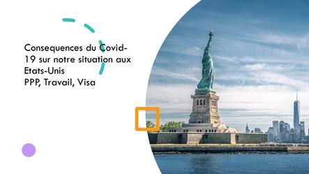 Impact du Covid-19 sur notre business, notre visa, notre vie aux Etats-Unis!