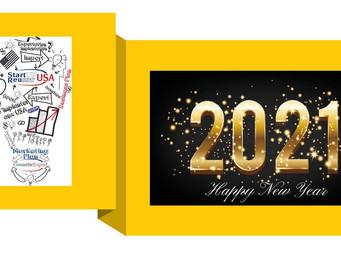 Happy New Year 2021, avec beaucoup d'optimisme