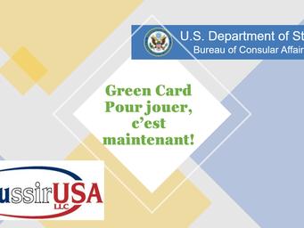 Green Card, pour jouer c'est maintenant!