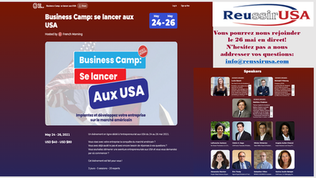 Boot Camp: Getting started in the US (Event in French only)