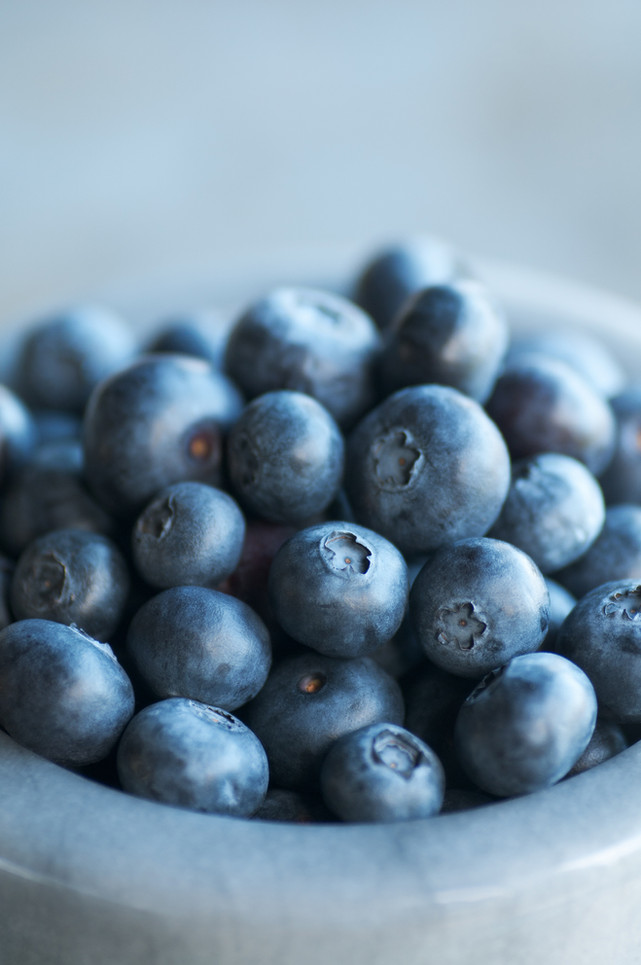 Blast Inflammation with Berries