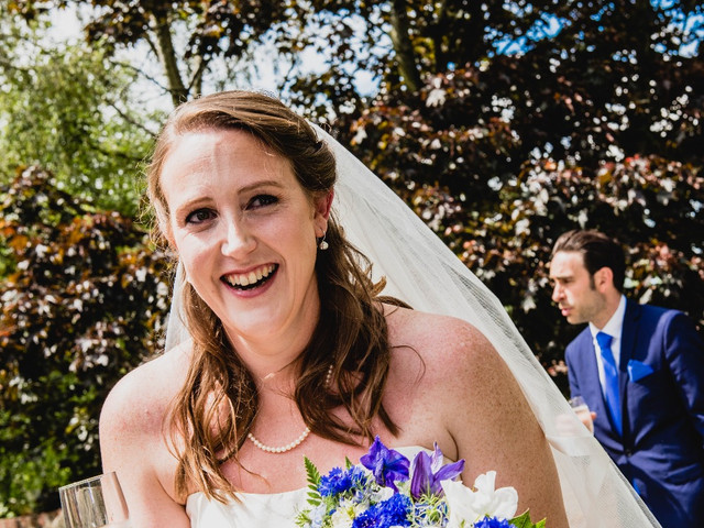 Claire & Nick Daffern Wedding Photograph