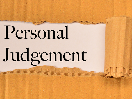 Caring and the impact of judgement