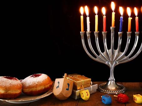 Hanukkah Sameach!