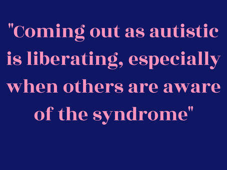 Autism, caring and me