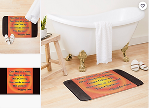 One Day At A Time Bath Mat