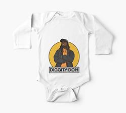 Diggity Dom Baby Onesie