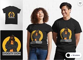 Diggity Dom T-Shirt