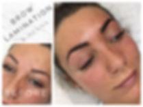 eyebrow lamination in barnsley