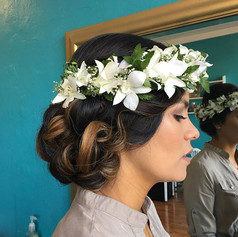 Big congratulations to this beautiful bride and her groom on their wedding today! Thank you for letting me be a part of your day 👰 hair by _