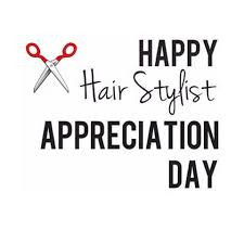 It's hug your hairstylist day!